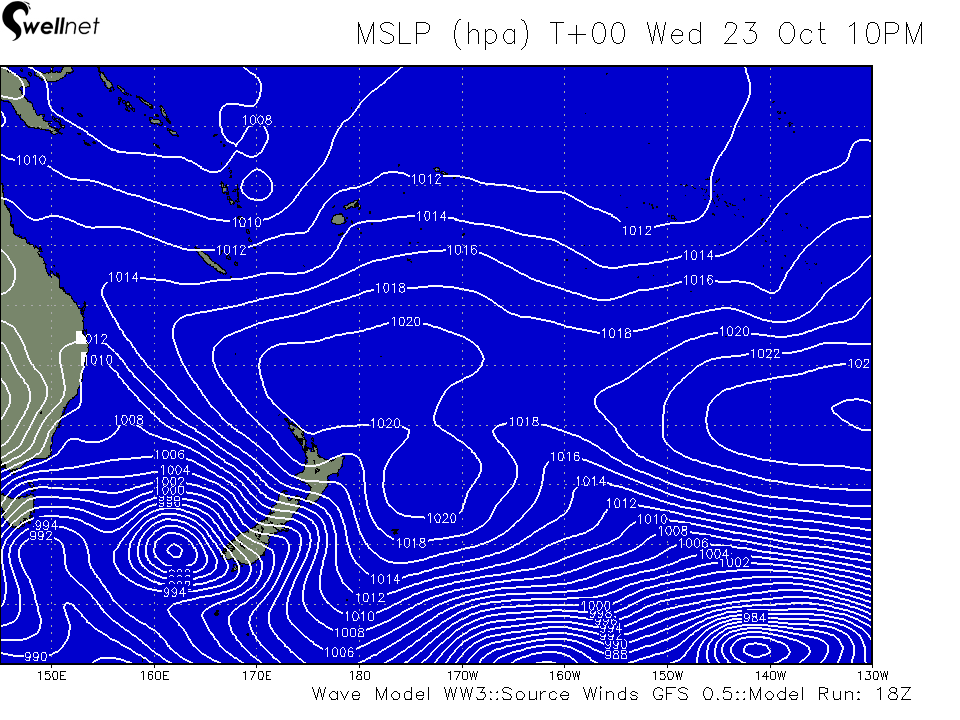 Mean Sea Level Pressure (4hPa grading)